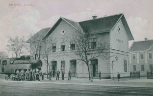 Željeznički kolodvor, Đakovo
