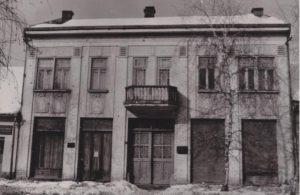 Das erste Gebäude des Museums der Đakovo Region in der heutigen Jelačić Straße.