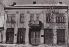 first building of the Museum of the Đakovo Region in the today's Jelačić Street.