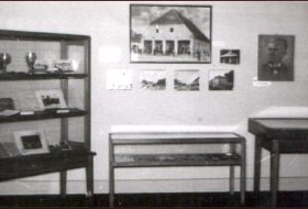 The first permanent exhibition of the Museum of the Đakovo Region from the year 1952