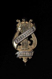 """A badge of the Music Ensemble """"Preradović"""", Đakovo"""